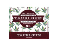 Coming Soon! Tauri-Gum Pomegranate flavor (8 Pc Blister Pack image
