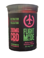 CBD Gummy Rings Watermelon (200mg) by Flight Mode image