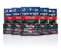 Vape Bright Thrive CBD Vape Cartridge - 200mg image