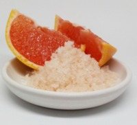 CBD Bath Salt Scrub - Grapefruit image