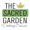 The Sacred Garden Delivery logo