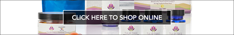 Where to buy Tulip Tree CBD products