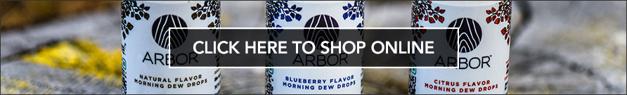 Where to buy Arbor Hemp products