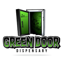 The Green Door Dispensary logo