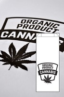 Dispensary Bag Organic Product Black image