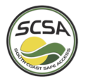 South Coast Safe Access SCSA logo