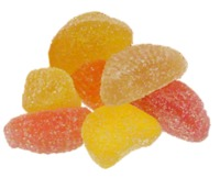 All Natural Organic Ingredients Gummy Fruit Slices image
