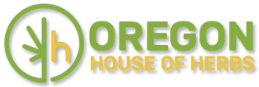 Oregon House of Herbs logo