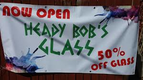 Heady Bob's Glass - Owner Operated Colorado Owned logo