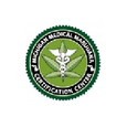 Michigan Medical Marijuana Certification Center- S logo