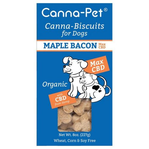 Canna-Biscuits for Dogs: Advanced MaxHemp Maple Bacon - Orga image