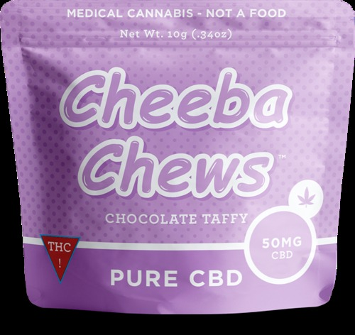 Medicated Chocolate Taffy-Pure CBD image