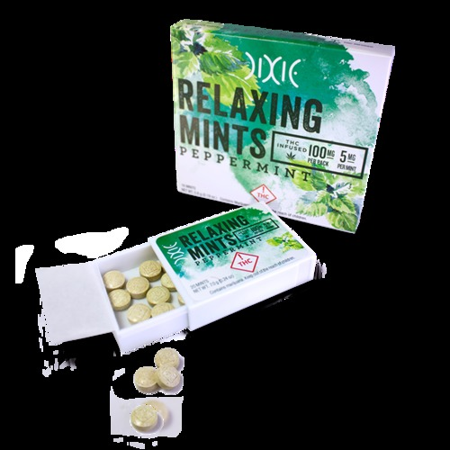 Peppermint Relaxing Mints image