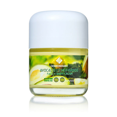 Avocado Lemongrass Body Cream image