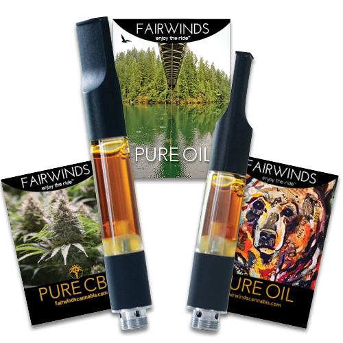 THC & CBD Vape Cartridges image