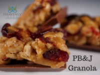 Peanut Butter & Jelly Granola image