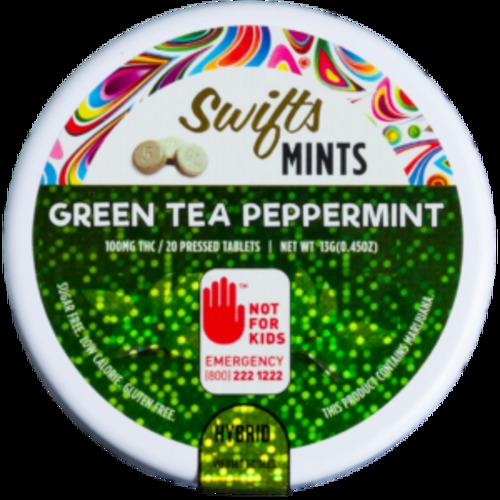Green Tea & Peppermint Mints image
