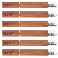 WOOD Taster Bat TWIST 6 Pack product image