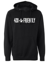 The 420 Friendly Historian Black Sweatshirt product image