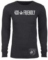 420 PuffpotamusLogo Heather Charcoal LS Thermal product image