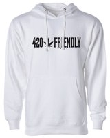 The 420 Friendly Historian White Sweatshirt product image