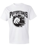 ​The Brian ​ Puffpotamus Logo White T-Shirt product image