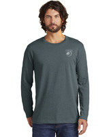 Rebel Jersey Puffpotamus Logo Heather Deep Charcoal LS Tee product image
